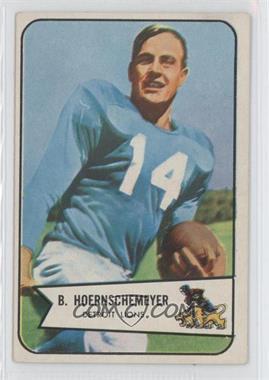 1954 Bowman #124 - Bob Hoernschemeyer
