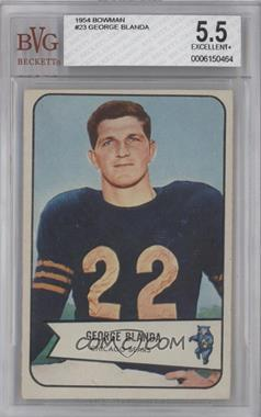 1954 Bowman #23 - George Blanda [BVG5.5]