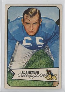1954 Bowman #29 - Les Bingaman [Good to VG‑EX]