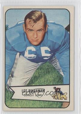 1954 Bowman #29 - Les Bingaman
