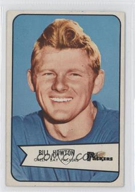 1954 Bowman #34 - Billy Howton