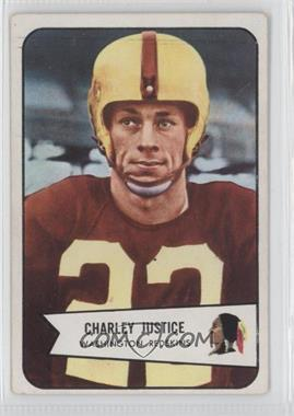 1954 Bowman #39 - Charlie Justice [Good to VG‑EX]