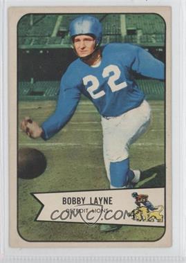 1954 Bowman #53 - Bobby Layne
