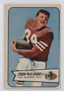 1954 Bowman #54 - Hugh McElhenny [Good to VG‑EX]
