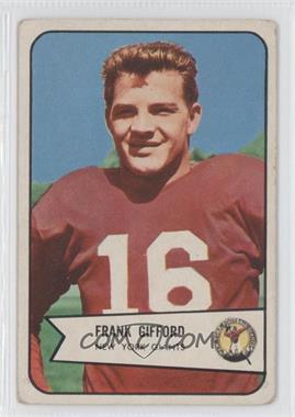 1954 Bowman #55 - Frank Gifford [GoodtoVG‑EX]