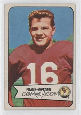 1954 Bowman #55 - Frank Gifford [Good to VG‑EX]