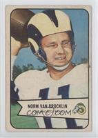 Norm Van Brocklin [Poor to Fair]