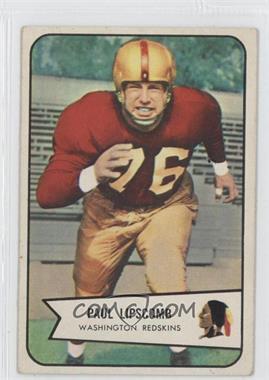 1954 Bowman #83 - Paul Lipscomb