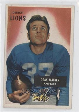 1955 Bowman - [Base] #1 - Doak Walker