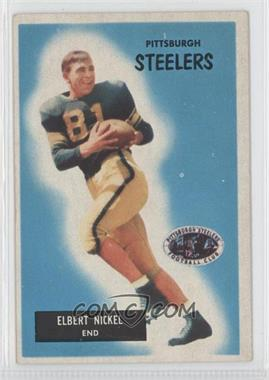 1955 Bowman - [Base] #124 - Elbert Nickel