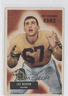 1955 Bowman - [Base] #82 - Les Richter