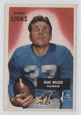 1955 Bowman #1 - Doak Walker