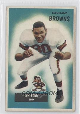 1955 Bowman #14 - Len Ford