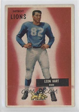 1955 Bowman #19 - Leon Hart
