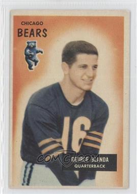 1955 Bowman #62 - George Blanda