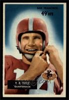 Y.A. Tittle [EX MT]