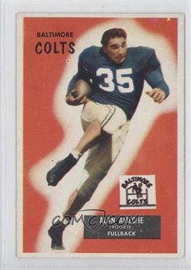 1955 Bowman #8 - Alan Ameche