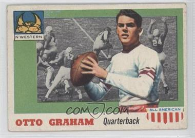 1955 Topps All American - [Base] #12 - Otto Graham [Good to VG‑EX]