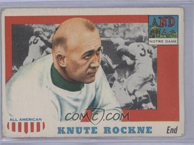 1955 Topps All American - [Base] #16 - Knute Rockne [Good to VG‑EX]