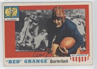 1955 Topps All American - [Base] #27 - Red Grange