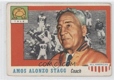 1955 Topps All American - [Base] #38 - Amos Alonzo Stagg [Good to VG‑EX]