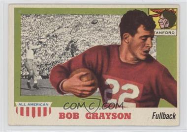 1955 Topps All American - [Base] #5 - Bob Grayson