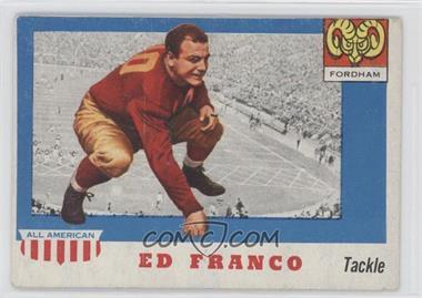 1955 Topps All American - [Base] #58 - Ed Franco [GoodtoVG‑EX]