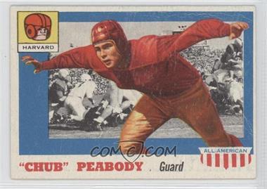 "1955 Topps All American - [Base] #72 - ""Chub"" Peabody [GoodtoVG‑EX]"