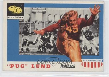 """1955 Topps All American - [Base] #79 - """"Pug"""" Lund"""