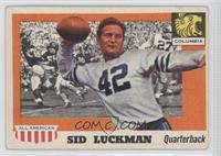 Sid Luckman [GoodtoVG‑EX]