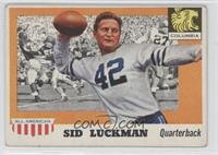 Sid Luckman [Good to VG‑EX]