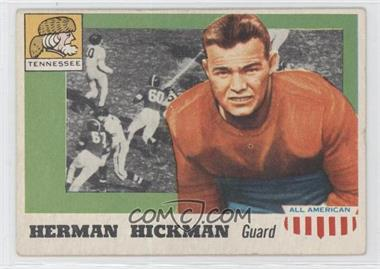 1955 Topps All American #1 - Herman Hickman