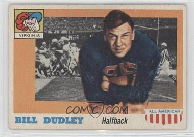 1955 Topps All American #10 - Bill Dudley
