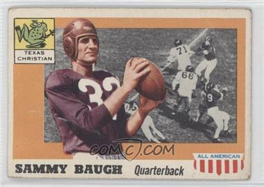 1955 Topps All American #20 - Sammy Baugh [Good to VG‑EX]