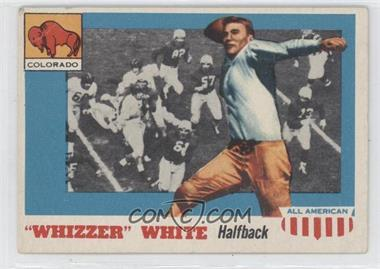 "1955 Topps All American #21 - ""Whizzer"" White (Corrected Biography)"