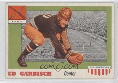 1955 Topps All American #44 - Ed Garbisch