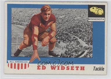 1955 Topps All American #48 - Ed Widseth