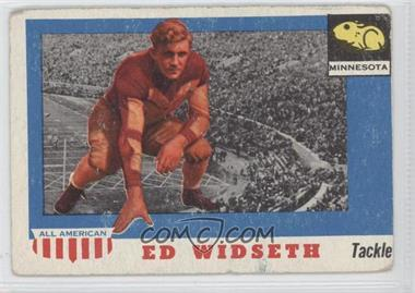 1955 Topps All American #48 - Ed Widseth [Good to VG‑EX]
