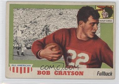1955 Topps All American #5 - Bob Grayson