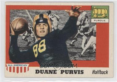 1955 Topps All American #51 - Duane Purvis