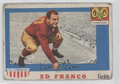 1955 Topps All American #58 - Ed Franco [PoortoFair]