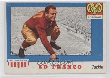 1955 Topps All American #58 - Ed Franco