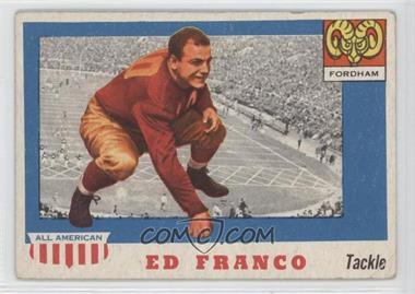 1955 Topps All American #58 - Ed Franco [GoodtoVG‑EX]