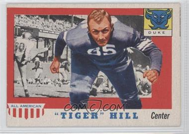 "1955 Topps All American #60 - ""Tiger"" Hill"