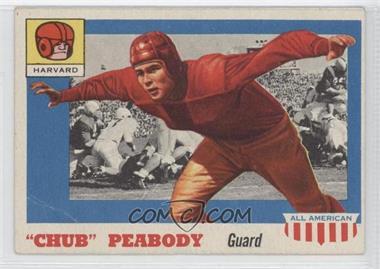 "1955 Topps All American #72 - ""Chub"" Peabody [GoodtoVG‑EX]"