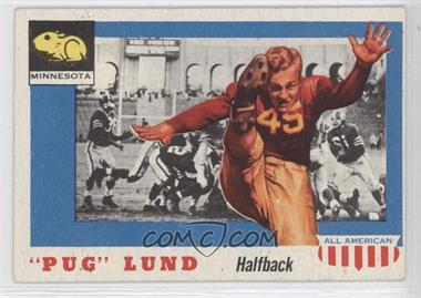 """1955 Topps All American #79 - """"Pug"""" Lund"""