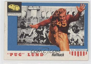 "1955 Topps All American #79 - ""Pug"" Lund"