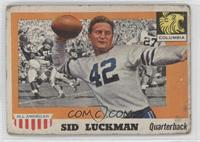 Sid Luckman [Poor to Fair]