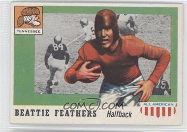 1955 Topps All American #98 - Beattie Feathers
