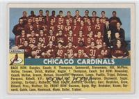 Chicago Cardinals Team [Fair]